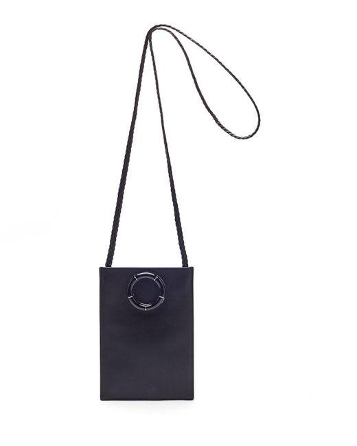 The Row - Black Smooth Calfskin Medicine Pouch Bag - Lyst