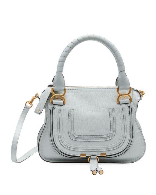 Chloé - Brown Marcie Small Double-carry Satchel Bag - Lyst