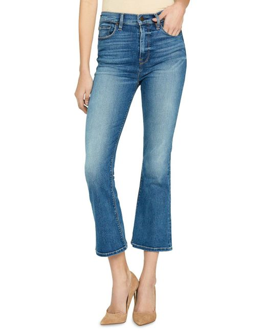 Hudson Blue Holly High-rise Crop Flare Jeans