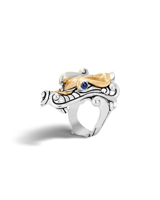 John Hardy - Metallic Men's Legends Naga Dragon Ring for Men - Lyst