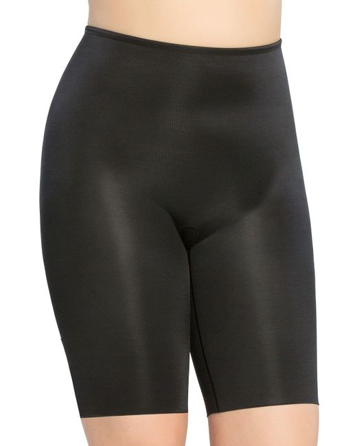 Spanx | Black Power Conceal-her® Thigh Shaper | Lyst