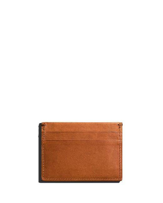 Shinola - Brown Men's Five-pocket Leather Card Case for Men - Lyst