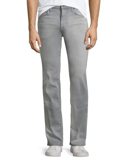 Joe's Jeans - Gray Brixton Straight-leg Jeans Steve for Men - Lyst