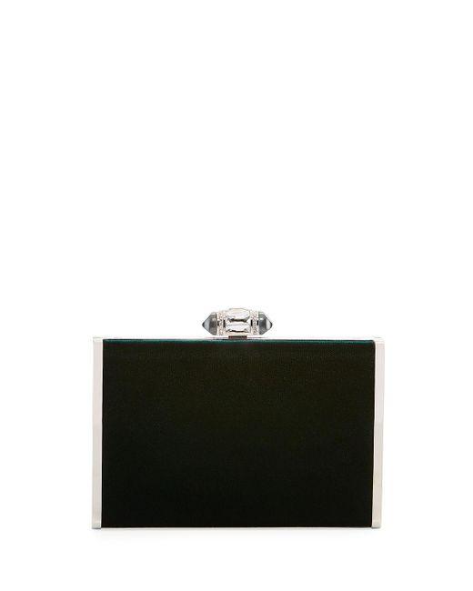 Judith Leiber - Green Tall Slender Rectangle Evening Clutch Bag - Lyst
