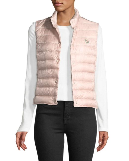 Moncler Multicolor Liane Quilted Down Gilet