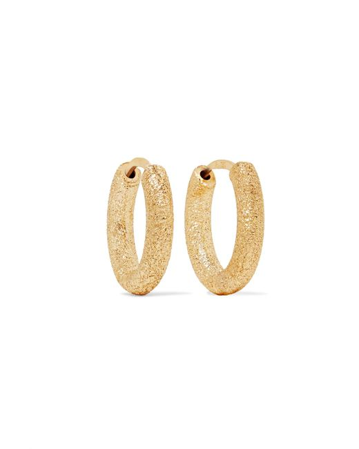 Carolina Bucci | Metallic 18-karat Gold Hoop Earrings | Lyst