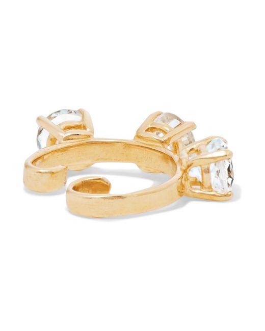 Loren Stewart Diddums 10-karat Gold Topaz Ear Cuff 3KqPH4Zkmf