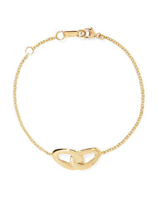 Ippolita - Metallic 18k Yellow Gold Cherish Interlaced Diamond Link Bracelet - Lyst
