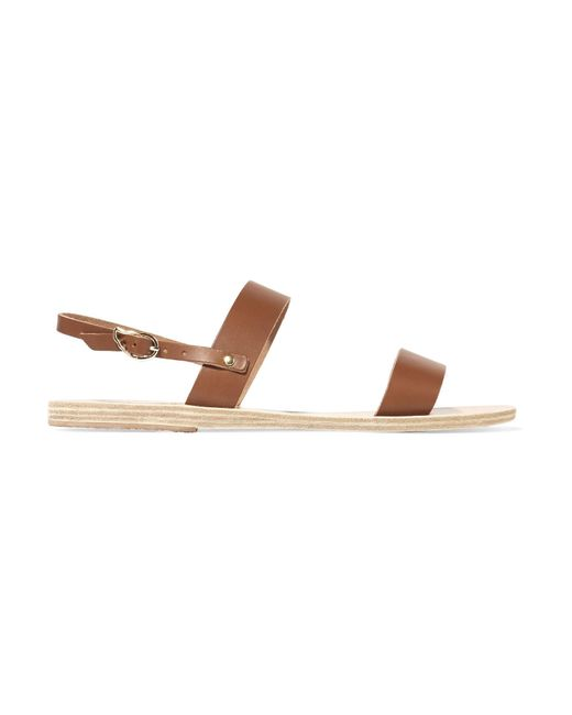 Ancient Greek Sandals - Brown Clio Leather Sandals - Lyst