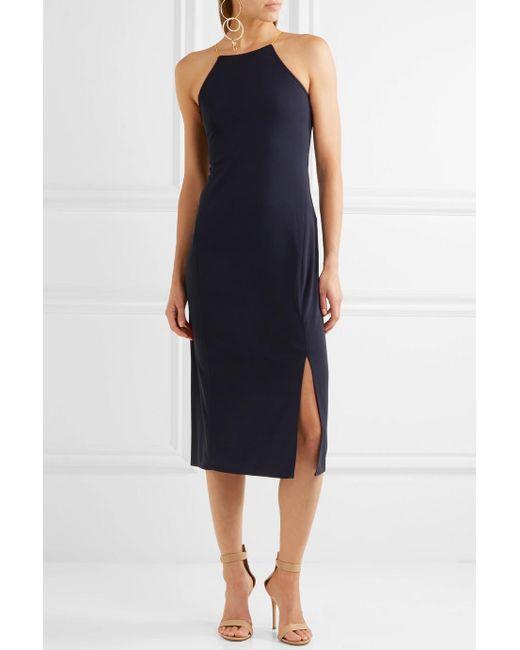 Lace-up Cady Dress - Midnight blue DKNY EE61f