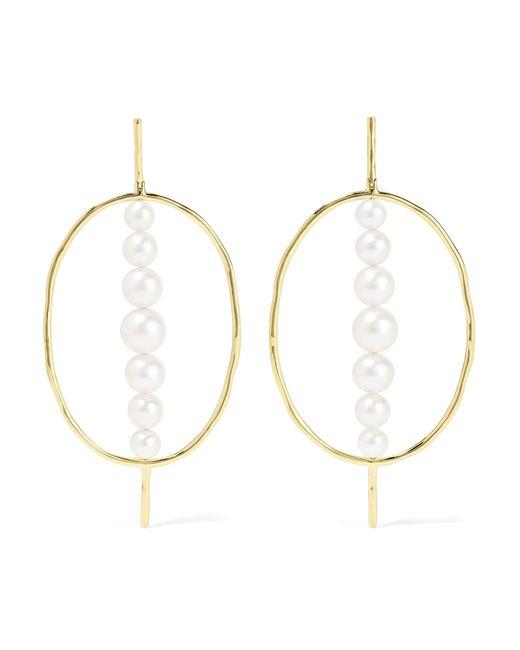 Ippolita - Metallic Nova 18-karat Gold Pearl Earrings - Lyst