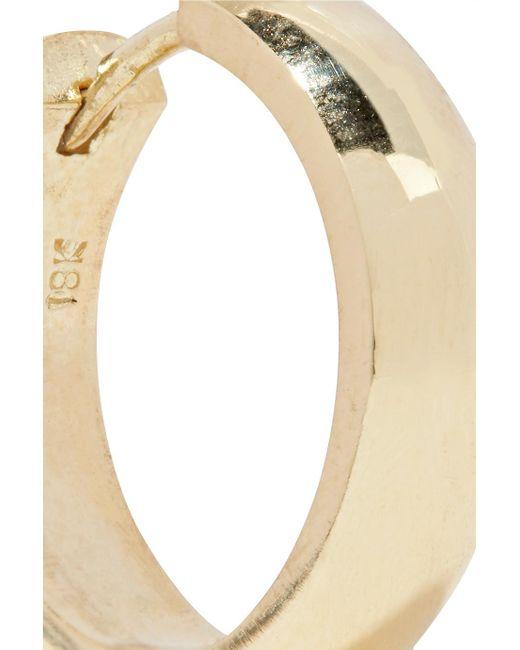 Jennifer Meyer Wide Huggies 18-karat Gold Earrings WdHlxBbVRc