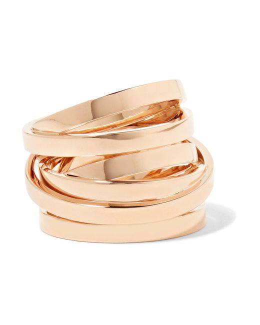 Repossi - Metallic Technical Berbère 18-karat Rose Gold Ring Rose Gold 52 - Lyst
