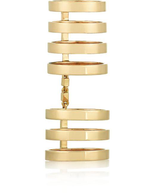 Repossi | Metallic Berbère 18-karat Gold Ring | Lyst