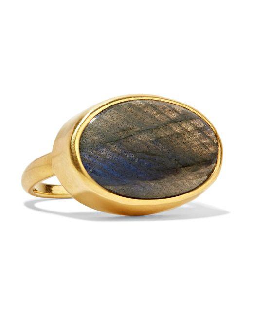 Pippa Small - Metallic 18-karat Gold Labradorite Ring - Lyst