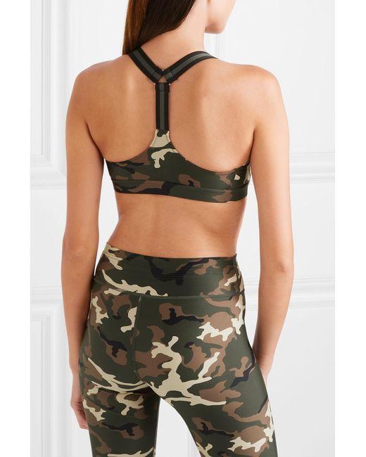 890c16a706 ... The Upside - Multicolor Alex Camouflage-print Stretch Sports Bra - Lyst  ...