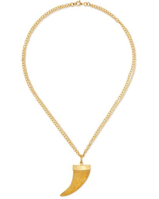 Carolina Bucci | Metallic Corno 18-karat Gold Necklace | Lyst