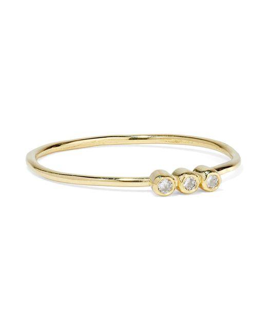 Jennifer Meyer - Metallic 18-karat Gold Diamond Ring - Lyst