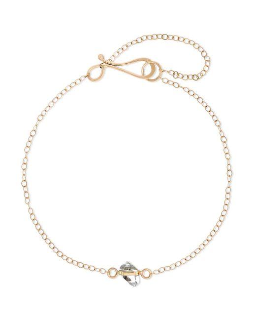 Melissa Joy Manning - Metallic 14-karat Gold Herkimer Diamond Bracelet - Lyst