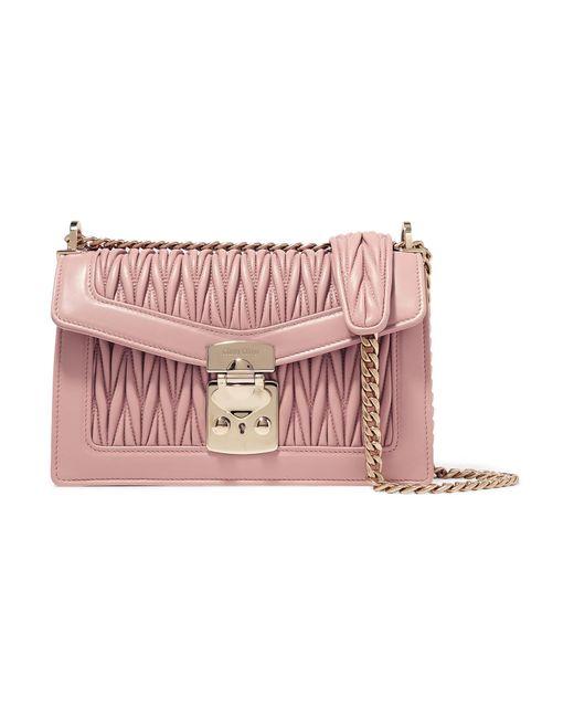 403e0244d0d8 Miu Miu - Multicolor Confidential Matelassé Leather Shoulder Bag - Lyst ...