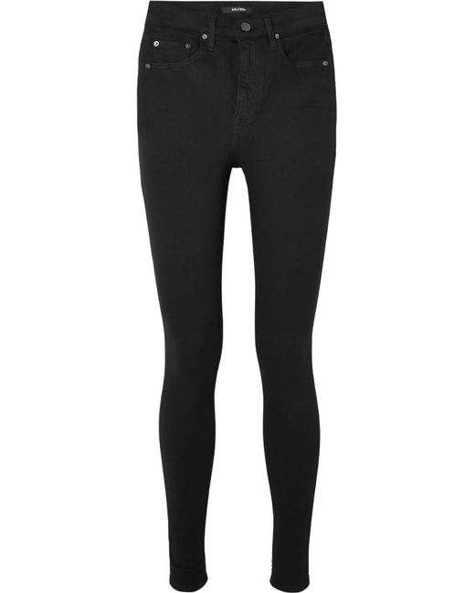 GRLFRND | Black Kendall High-rise Skinny Jeans | Lyst