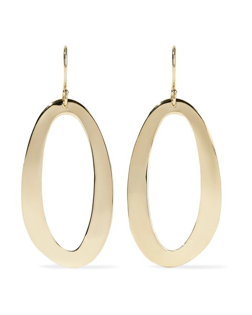 Ippolita - Metallic Cherish 18-karat Gold Earrings - Lyst