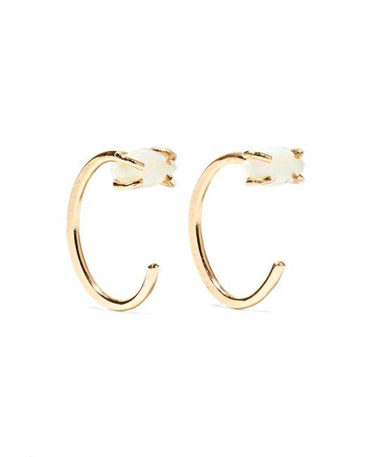 Melissa Joy Manning - Metallic 14-karat Gold Opal Earrings - Lyst