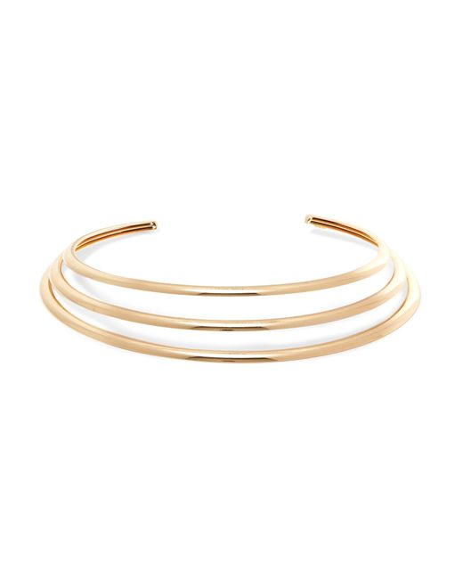 Kenneth Jay Lane - Metallic Gold-plated Choker - Lyst