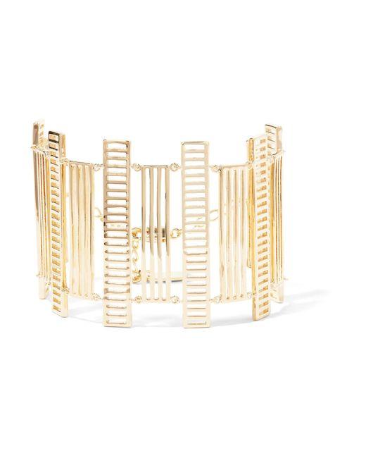 Arme De L'Amour | Metallic Chandelier Gold-plated Bracelet | Lyst