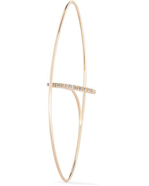 Hirotaka - Metallic 10-karat Gold Diamond Earring - Lyst