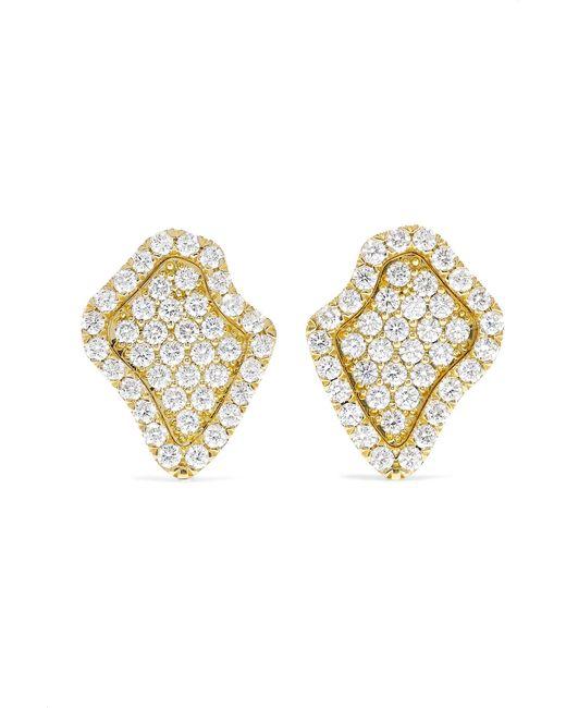 Kimberly Mcdonald - Metallic 18-karat Gold Diamond Earrings - Lyst