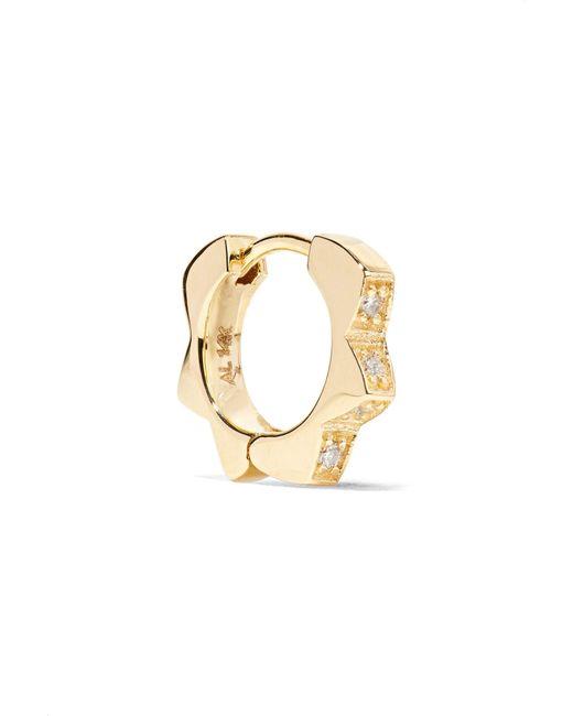 Alison Lou - Metallic Stelle 14-karat Gold Diamond Earring - Lyst