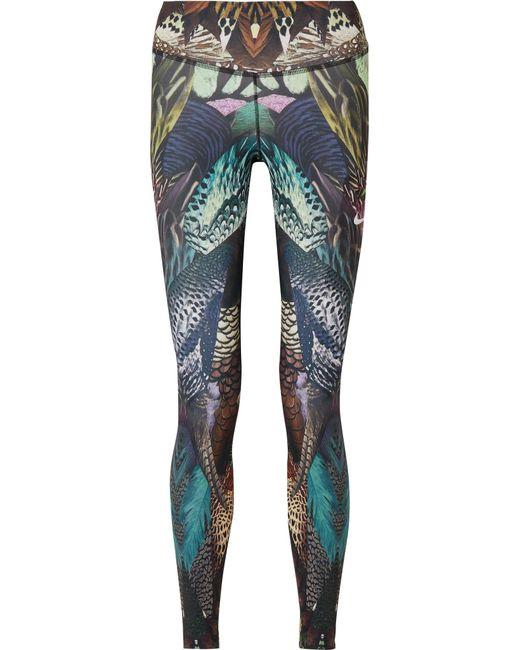 Nike - Purple Power Printed Dri-fit Stretch Leggings - Lyst