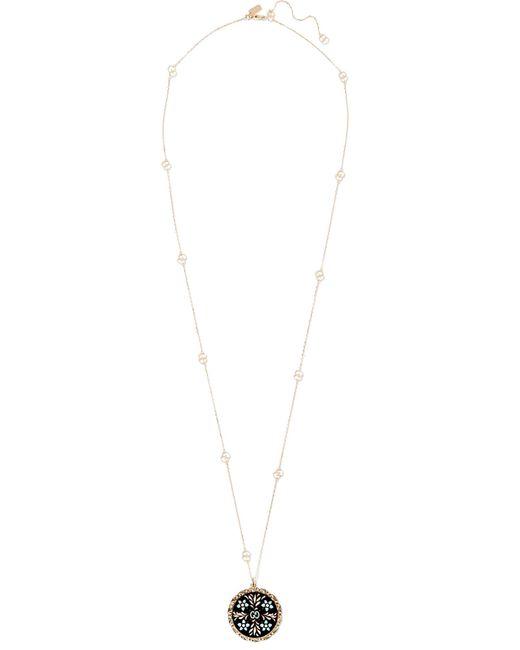 Gucci - Metallic Icon 18-karat Gold And Enamel Necklace - Lyst