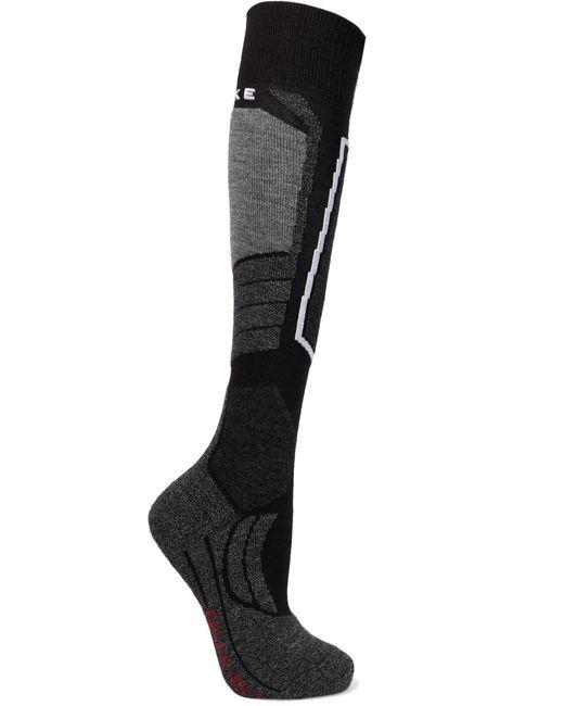 Falke | Black Sk2 Knitted Socks | Lyst