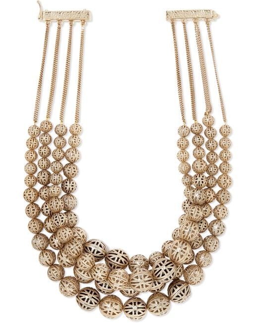 Rosantica - Metallic Innocenza Gold-tone Necklace Gold One Size - Lyst