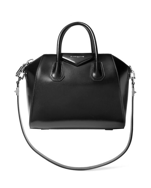 Givenchy - Small Antigona Bag In Black Leather - Lyst