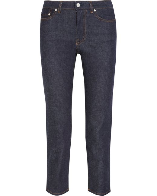 Acne | Blue Flex Sequel Mid-rise Skinny Jeans | Lyst