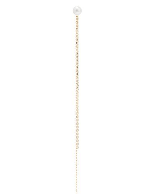 Mizuki | Metallic 14-karat Gold Pearl Earring | Lyst