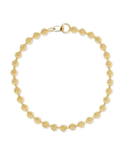 Jennifer Fisher | Metallic Ball Chain Gold-plated Choker | Lyst