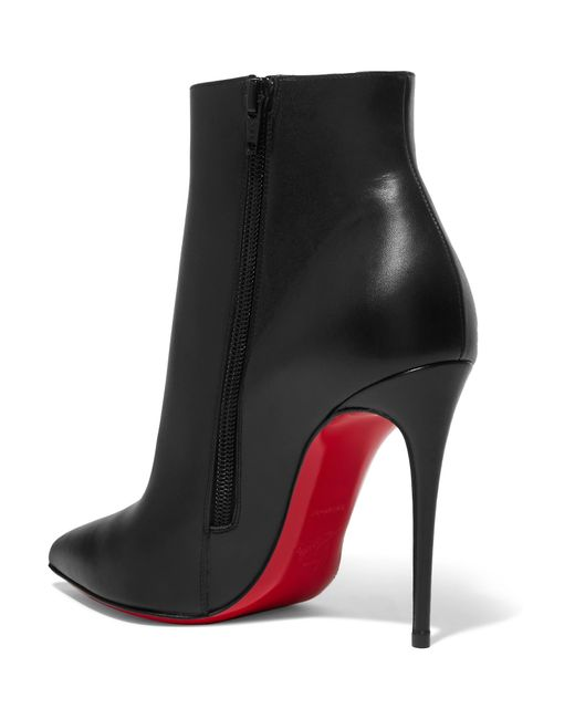 764186d28324 ... Christian Louboutin - Black So Kate 110 Leather Ankle Boots - Lyst ...