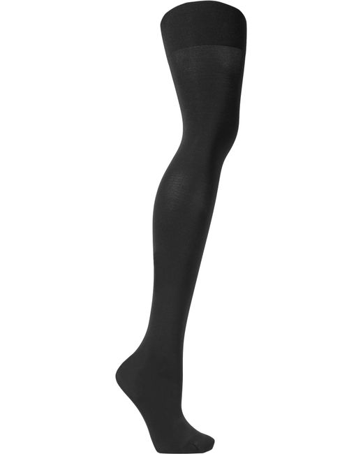 Spanx | Black Luxe Leg High-rise 60 Denier Shaping Tights | Lyst