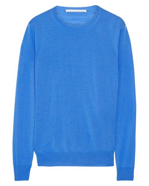 Stella McCartney | Blue Wool Sweater | Lyst