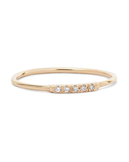 Loren Stewart - Metallic 14-karat Gold Diamond Ring - Lyst
