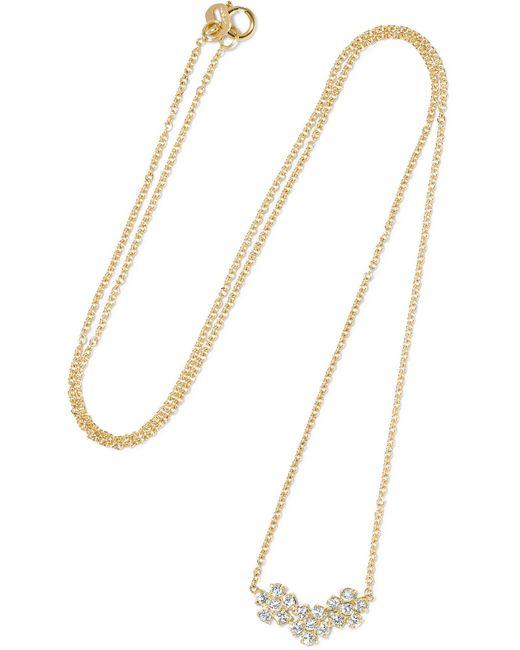 Jennifer Meyer   Metallic 18-karat Gold Diamond Necklace   Lyst
