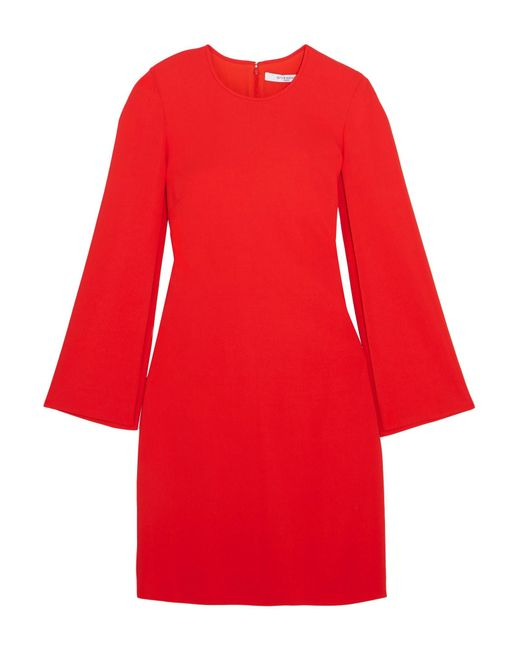 Givenchy | Red Stretch-crepe Mini Dress | Lyst