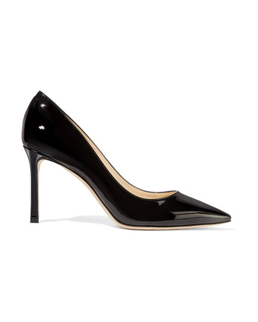 Jimmy Choo | Black Romy Patent-leather Pumps | Lyst
