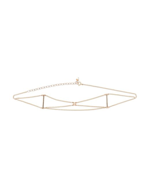 Loren Stewart | Metallic 14-karat Gold Diamond Choker | Lyst