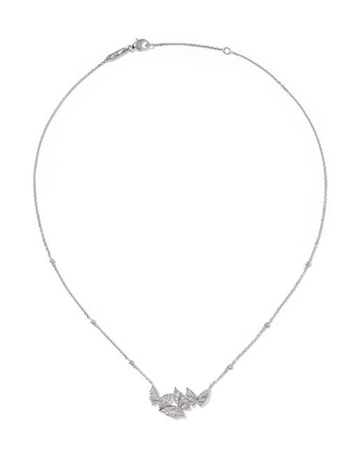 Stephen Webster | Metallic Fly By Night 18-karat White Gold Diamond Necklace | Lyst