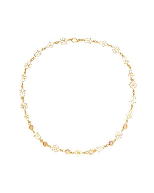 Pippa Small | Metallic 18-karat Gold Tourmaline Necklace | Lyst